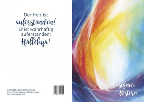 Doppelkarte plano - Auferstehung - Rieger