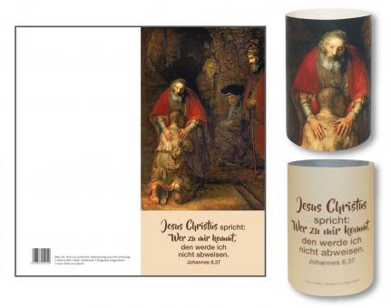 Lichtkarte - Jahreslosung 2022 - Rembrandt