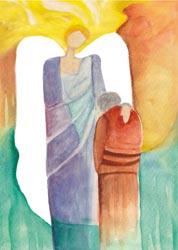 Postkarte - Engel der Versöhung