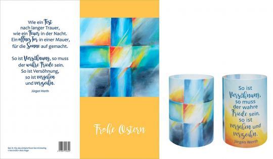 Lichtkarte - Frohe Ostern - Wie ein Fest