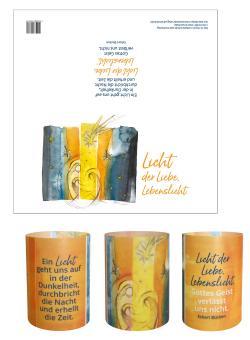 Lichtkarte - Licht der Liebe, Lebenslicht
