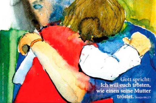 Doppelkarte plano - Ich will euch trösten... - Friese