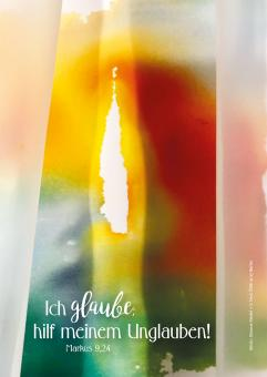 Doppelkarte plano - Jahreslosung 2020 - Simone Riedel