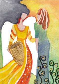Postkarte - Engel der Begegnung