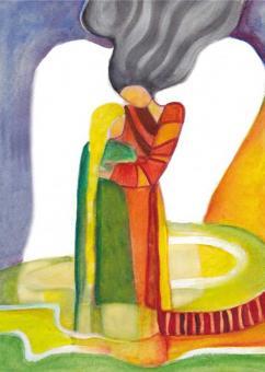 Postkarte - Engel der Liebe