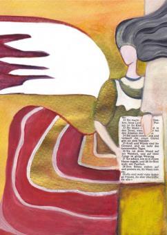 Postkarte - Engel der Weisheit