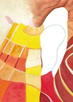 Postkarte - Engel des Lichtes