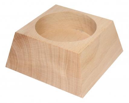 Kerzenständer - Holz 9x4 cm