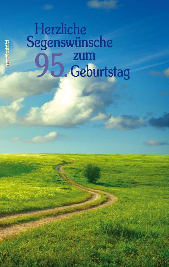 Wort Im Bild Shop Bildband Herzliche Segenswünsche Zum 95